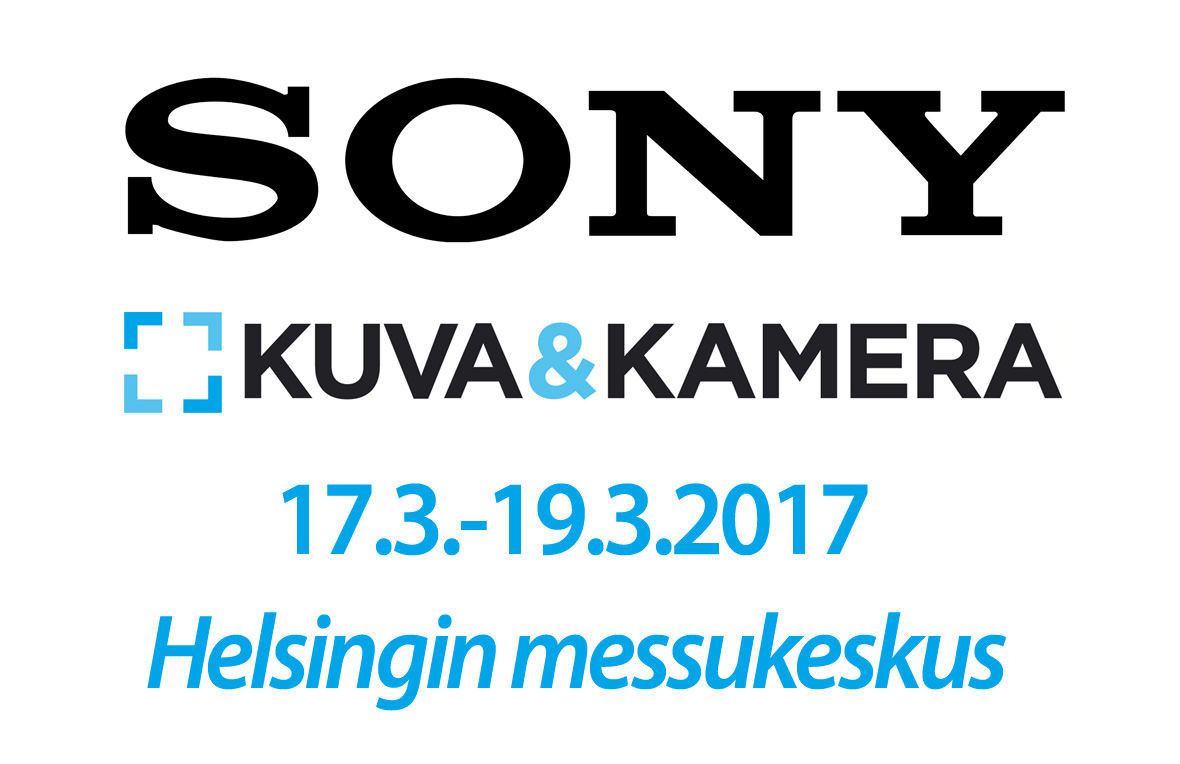 Sony Kuva&Kamera-messuilla 2017