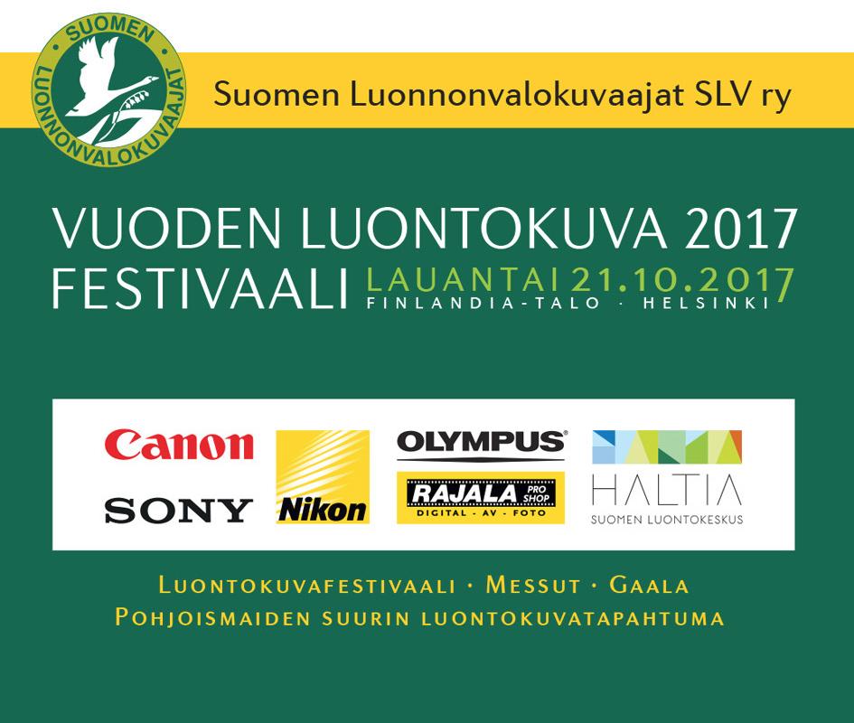 Sony Mukana Vuoden Luontokuva 2017 Festivaalilla